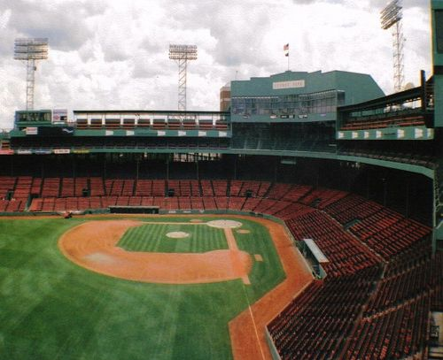 Fenway Park ~ home to the Boston Red Sox since 1912
