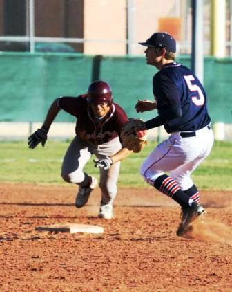Second baseman coming in behind the runner on a timed pick from the pitcher