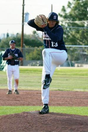 high school pitcher