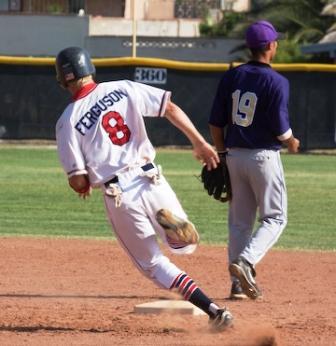 base running, first to third