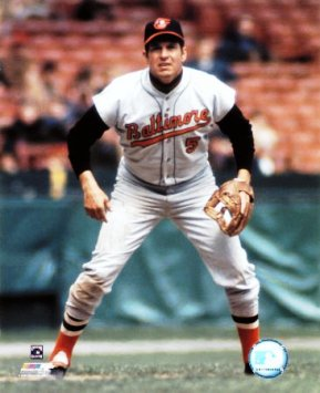 Brooks Robinson, one of the great third basemen of all time