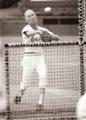 Cal Ripken Sr. throwing batting practice