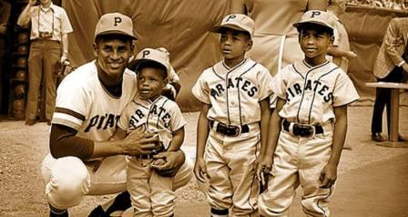 Roberto Clemente And Sons