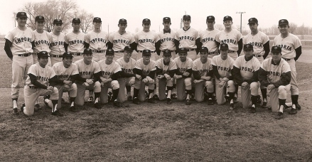 Emporia State University 1970, I am front row, far right