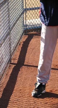 fence drill, feet