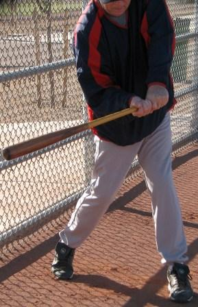 fence drill, swing