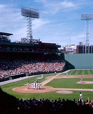 Fenway Park, Boston.  You can feel the history, even in the picture.