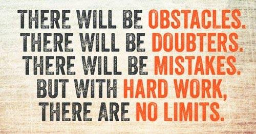 There Will Be Obstacles