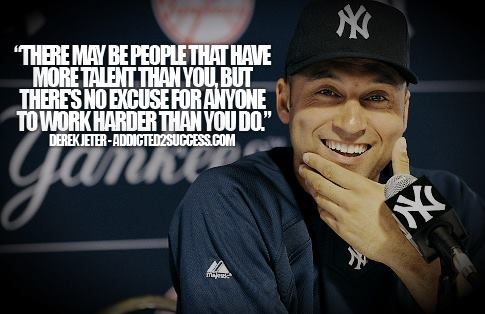 Jeter on hard work
