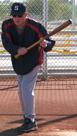 left hand drag bunt