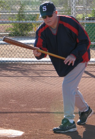 right hand drag bunt