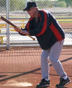 right hand push bunt
