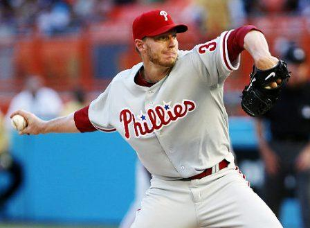 Roy Halladay Phillies pitcher, 2 Cy Young awards, 8 All-Star games