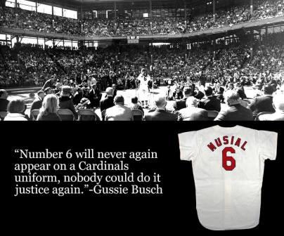 Stan Musials last baseball game