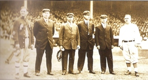 MLB umpire squad, 1913 World Series