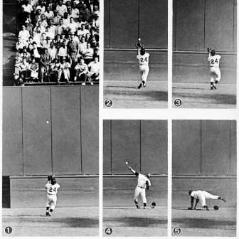 Willie Mays, The Catch