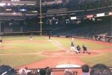 one, 8 pitch at bat, resulting in a walk