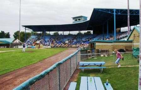 My first professional games were attended in this stadium, located in Elmira NY, in the mid 1950's
