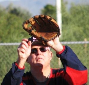 fielding flyball