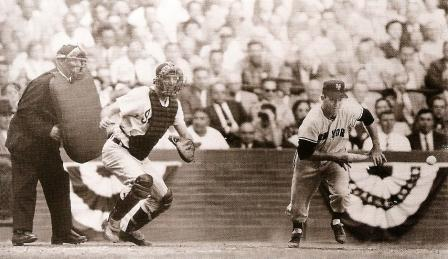 sacrifice bunt 1954 World Series