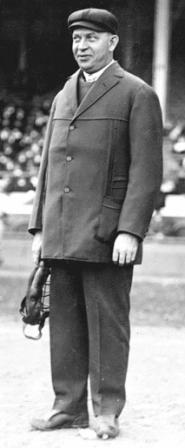 umpire Bill Klem, holds the records for working more World Series 18, most Series games 108, and most consecutive World Series 5, 1911-1915.