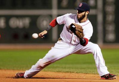 Pedroia Ground Ball Focus
