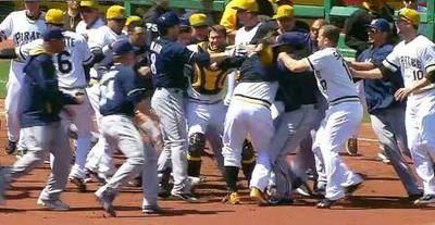 Pirates/Brewers Brawl
