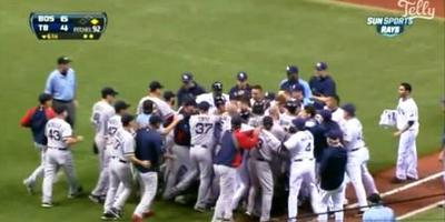 Red Sox/Rays Brawl