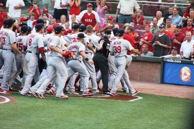 Reds/Cardinals Brawl