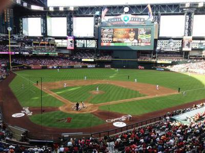 Chase Field, Home to the Arizona Diamondbacks