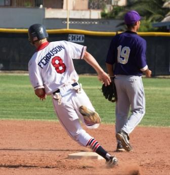 Base running action pic