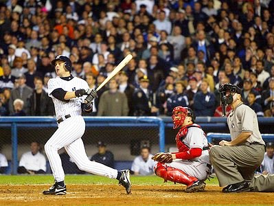 Aaron Boone, walkoff homerun