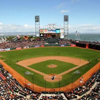at&t park, San Francisco Giants