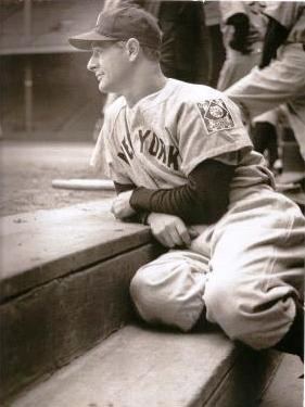 Lou Gehrig, New York Yankees.  My father's Favorite Baseball Player