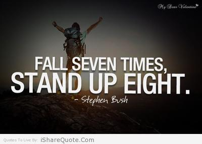 Fall Seven Times - Stand Up Eight
