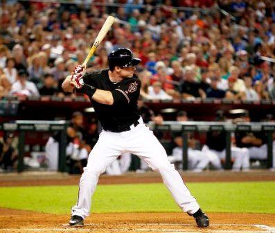 Paul Goldschmidt, head squared to pitcher.