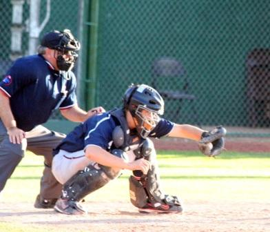Third Pitch Foul Ball Back To Catcher