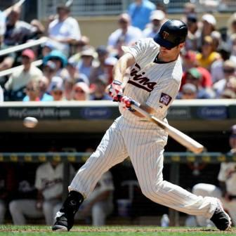 Joe Mauer, locked in