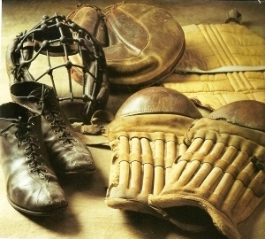 Old Time Catcher's Gear
