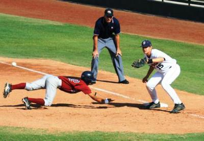First Baseman Holing Runner