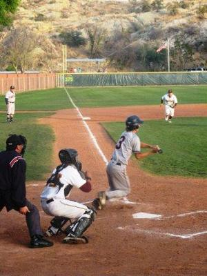 Bunt up the first base line