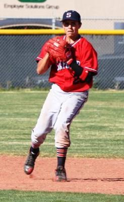 Shortstop getting his feet in a good position to throw