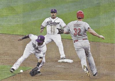 Is A Runner Out If He Gets Hit By Batted Ball Behind Infielder?