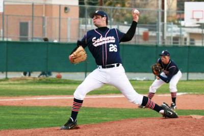 High School Pitcher's Delivery