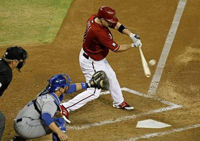 Both Feet Completely Inside The Batter's Box, No contact With Plate When Hitting The Baseball.