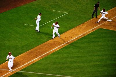 A Baserunning Situation You Seldom See
