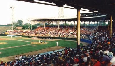Bush Stadium, Indianapolis, Indiana  Minor League Stadium