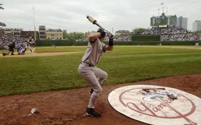 Wrigley, field level vs Yankees